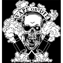 T-Shirt Vape or Die L